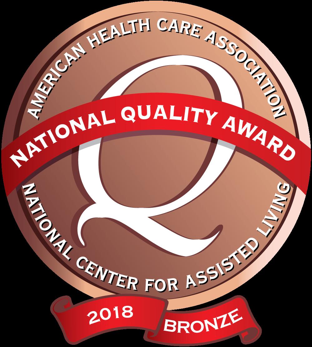 2018 Bronze Award Logo