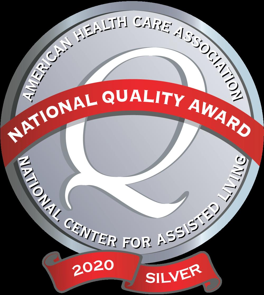 2020 Silver Award Logo